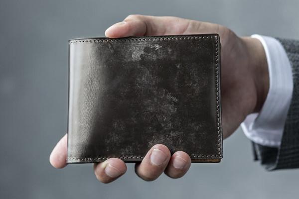 crafsto Bridle Leather 二つ折り財布